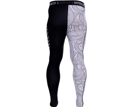 LEGGINSY BLACK -WHITE