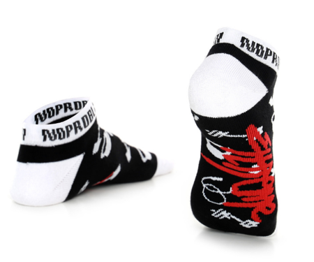 Socks NoProblem Black White